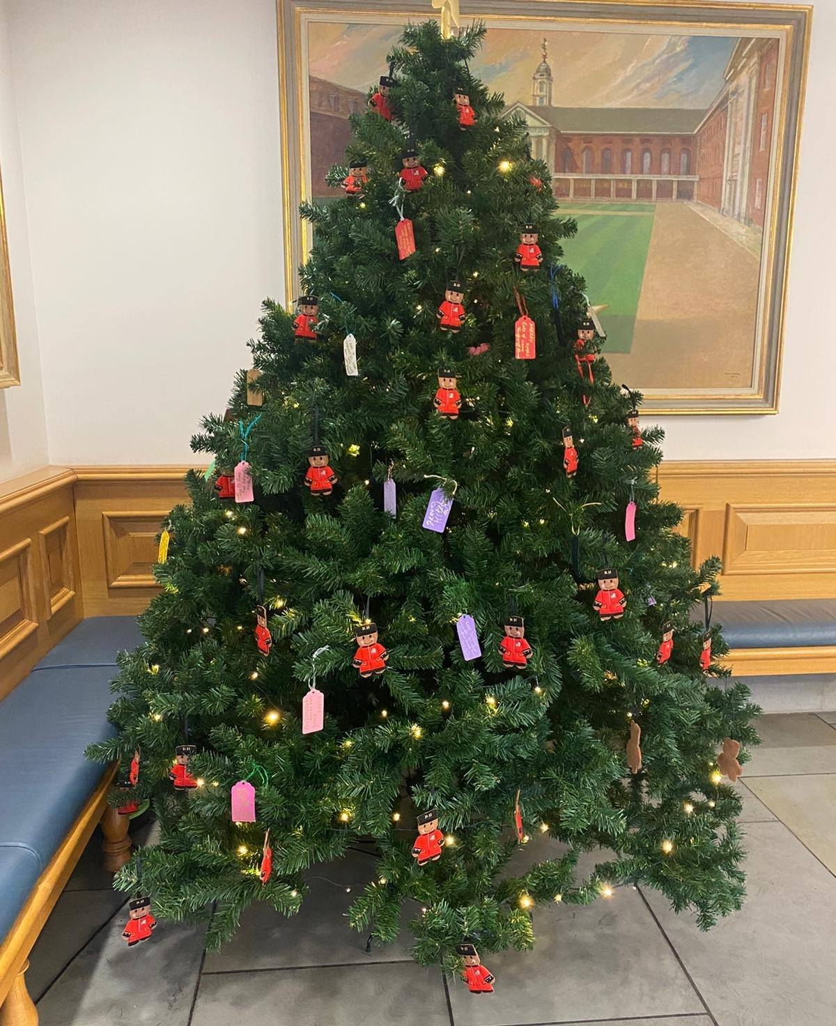 Christmas Tree in the Infirmary