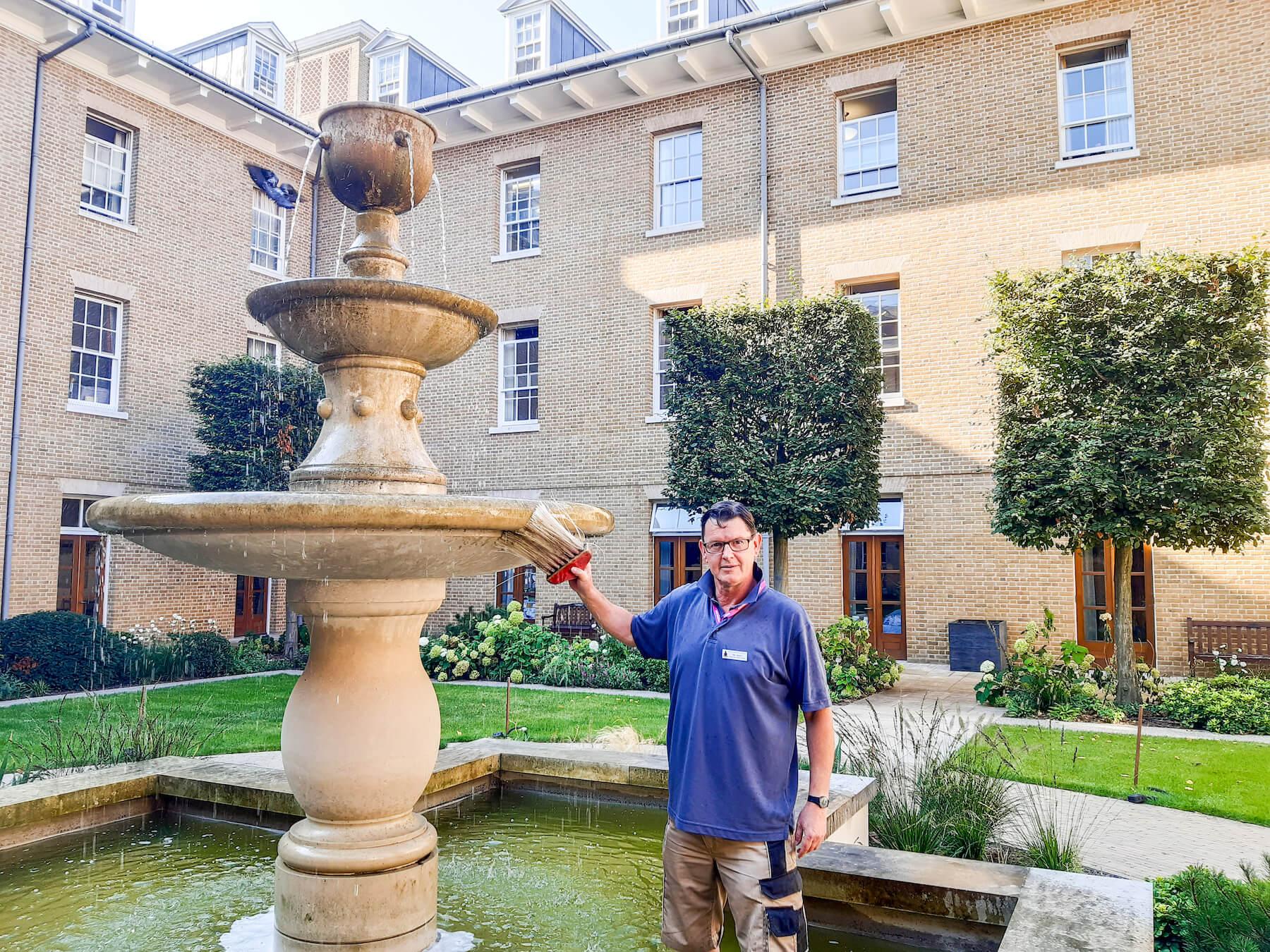 Salisbury Court Fountain - Royal Hospital Chelsea