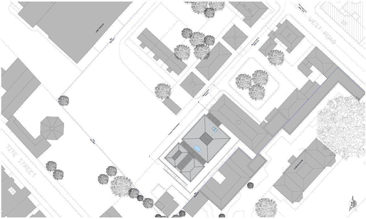 Activities Centre site plan