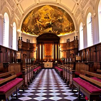 Royal Hospital Chelsea wren chapel