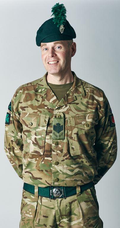 Colour Sergeant Lindsay