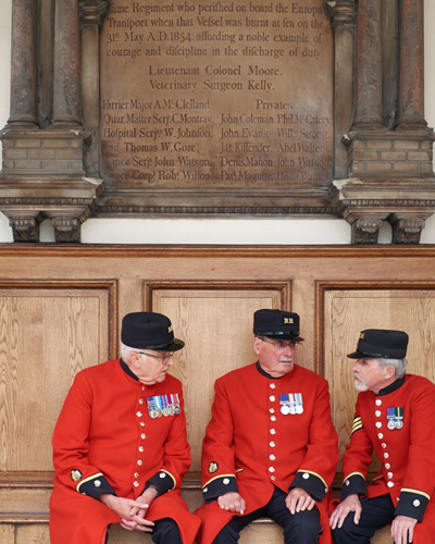 The Chelsea Pensioners in Conversation