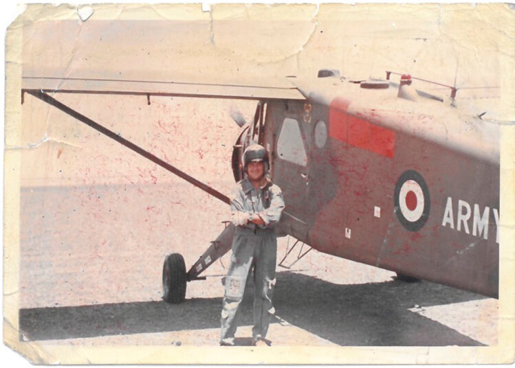 David Jackson - Former Army Pilot and Chelsea Pensioner