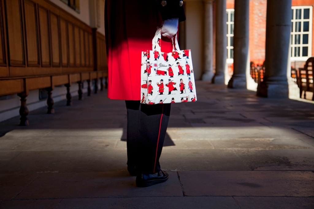 Chelsea Pensioners Canvas Shopping Bag
