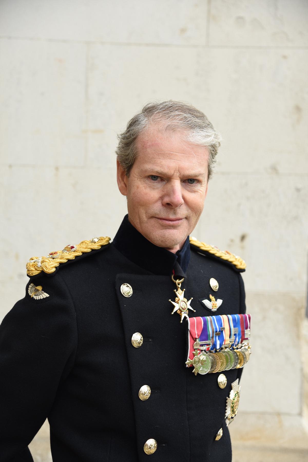 Governor Sir General Adrian Bradshaw, KCB OBE DL