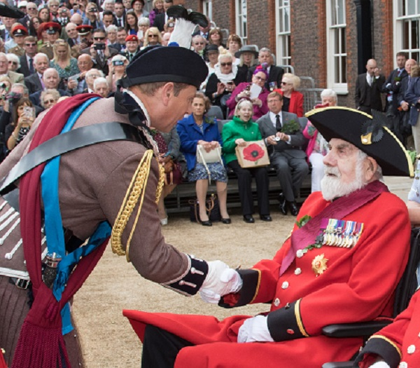 HRH Earl of Wessex meets Bill at Founder's Day 2017