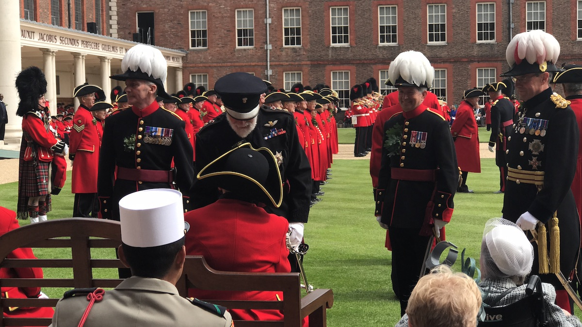 Prince Michael of Kent at Founder's Day 2018