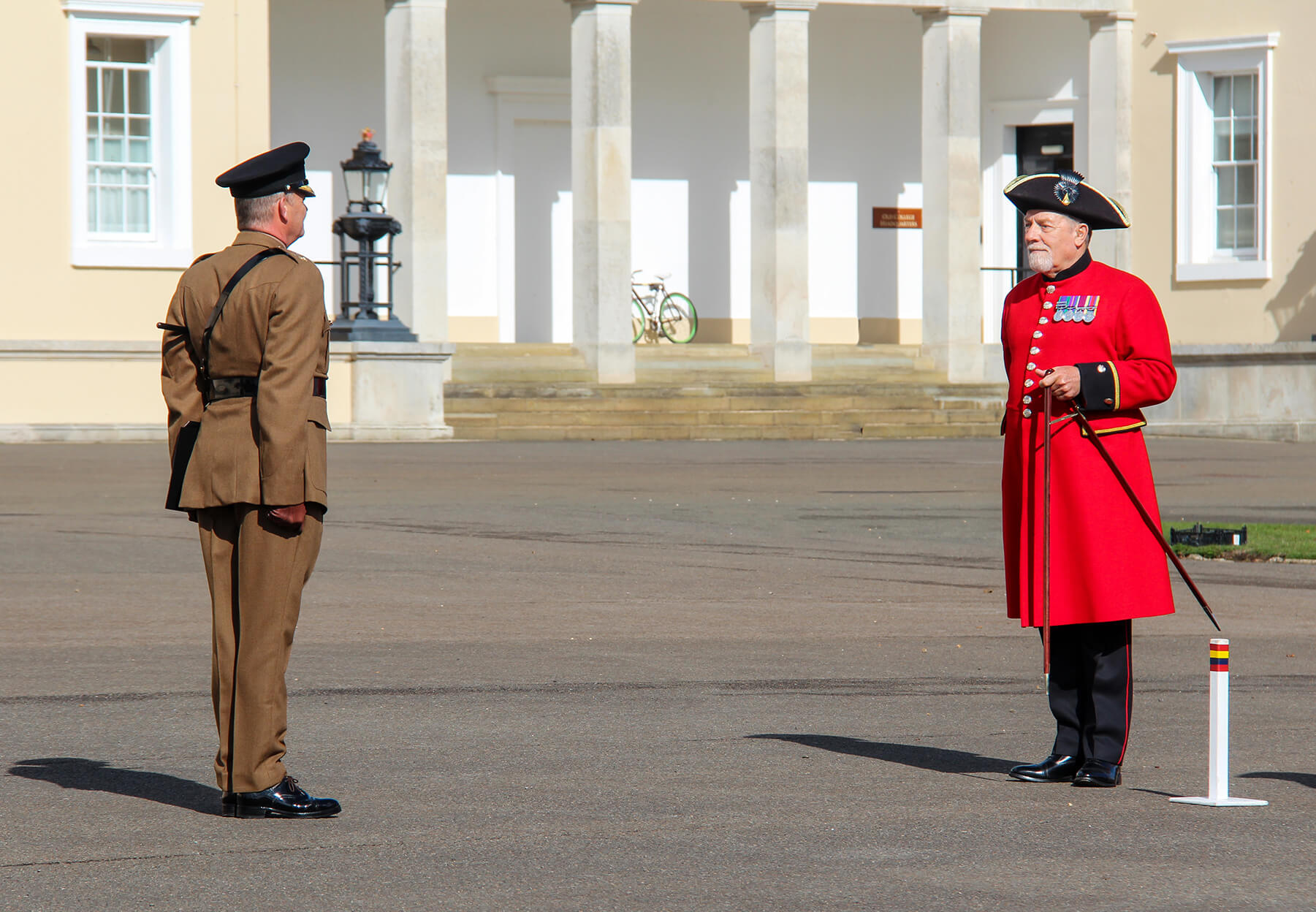 Chelsea Pensioners Pace Sticking at RMA Sandhurst