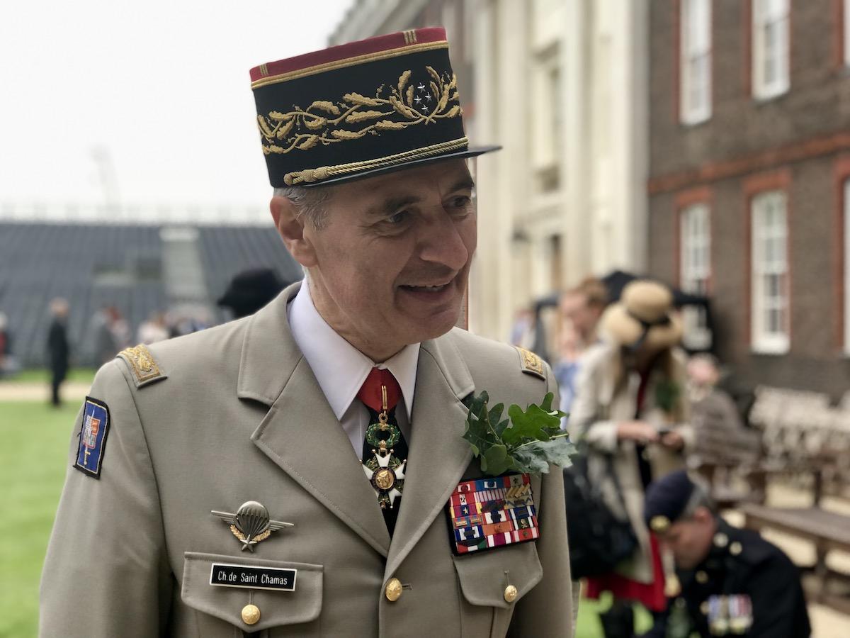 Gouverneur des Invalides, Lieutenant General Christophe de Saint Chamas