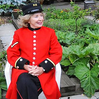 Chelsea Pensioner Gillian McDonald