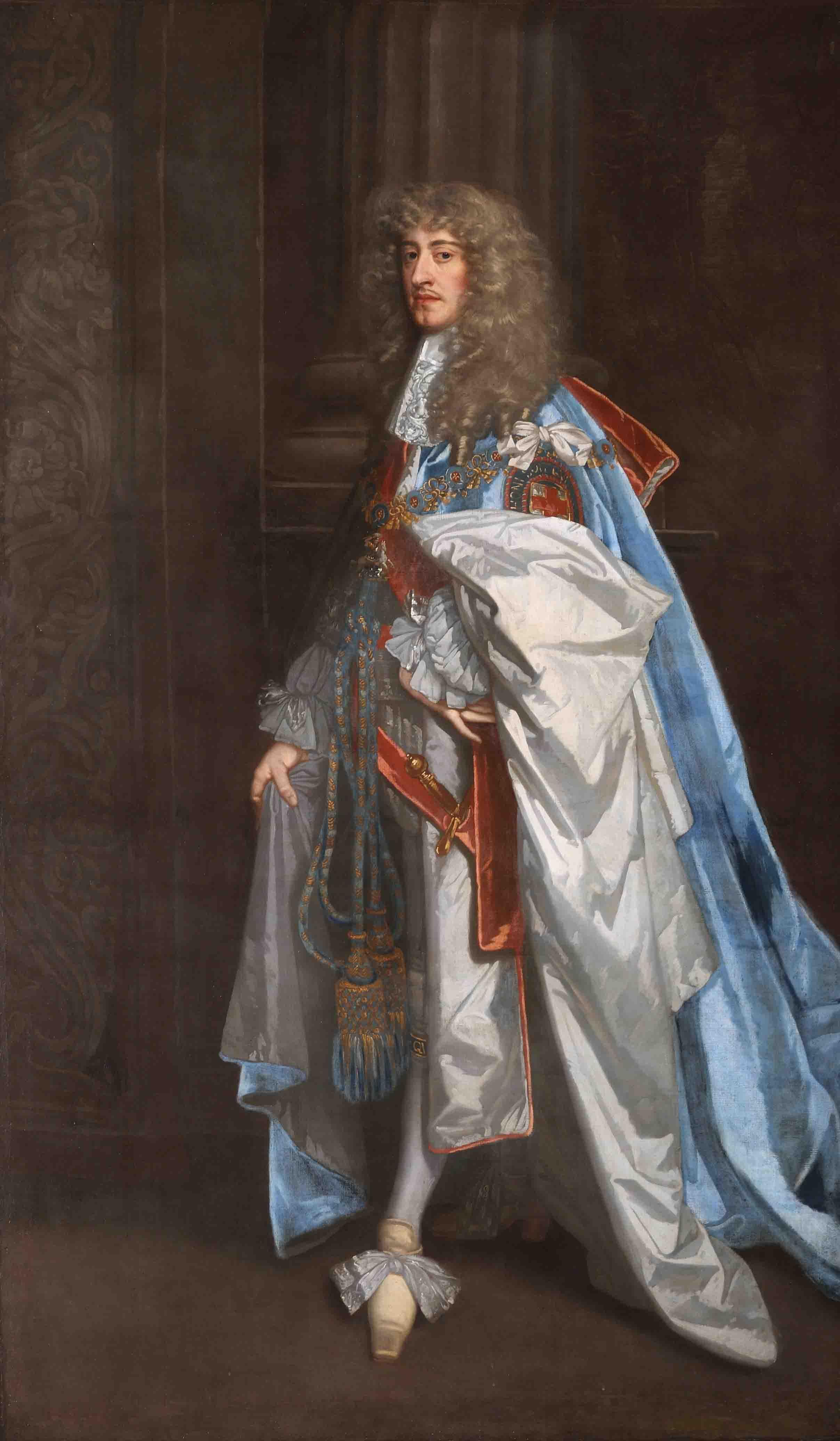 James II (1633–1701) by Peter Lely (1618–1680). Royal Hospital Chelsea.