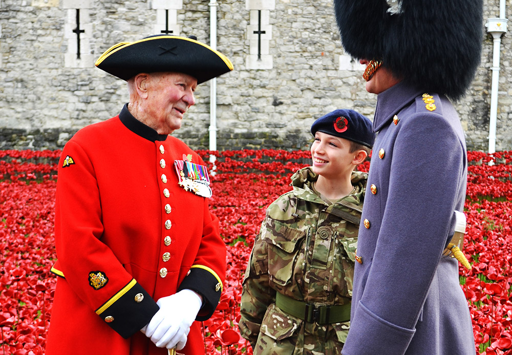 Chelsea Pensioner John Humphreys