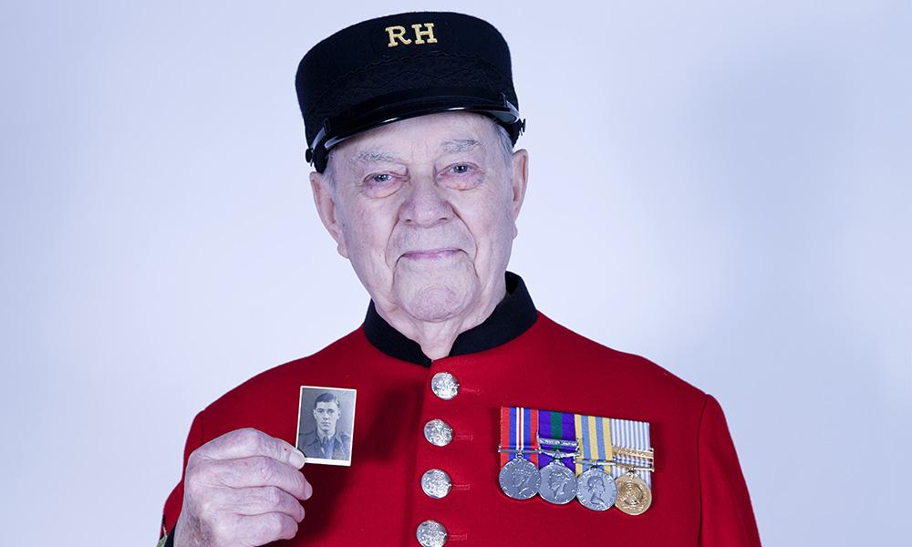 Chelsea Pensioner John Short