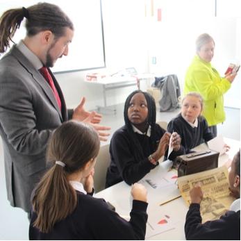 Kids enjoying a workshop at the RHC