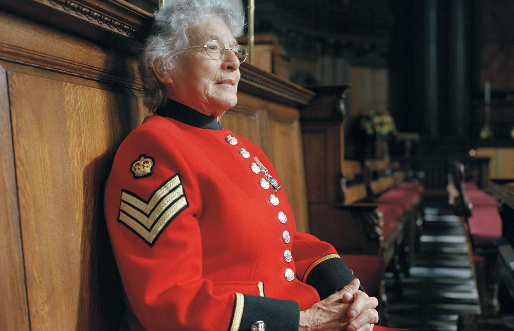 Chelsea Pensioner Marjorie