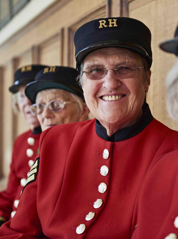 Chelsea Pensioner Monica Parrott