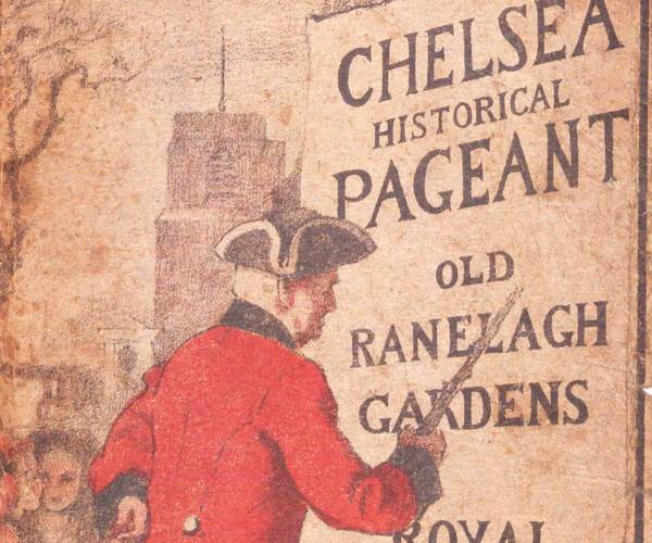 Pageant Programme, Royal Hospital Chelsea collections