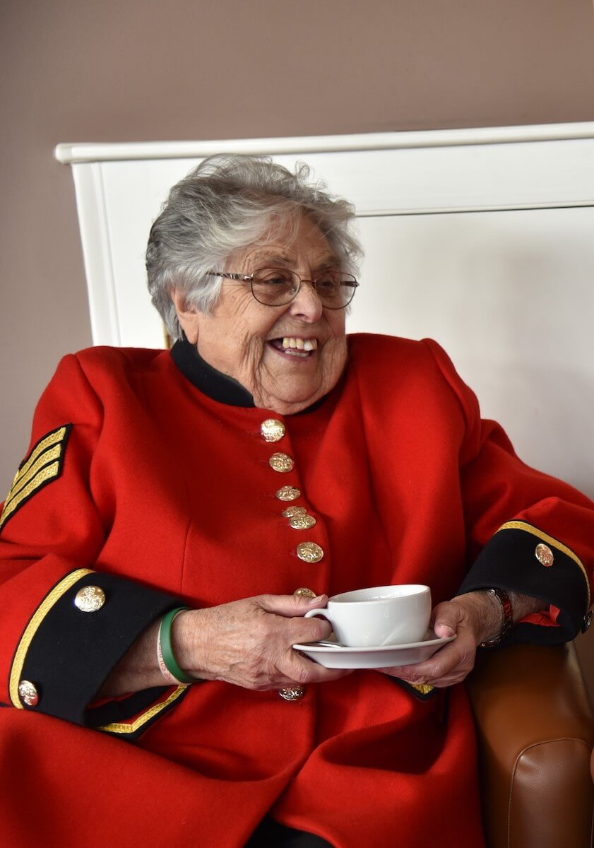 Pamela - Chelsea Pensioner