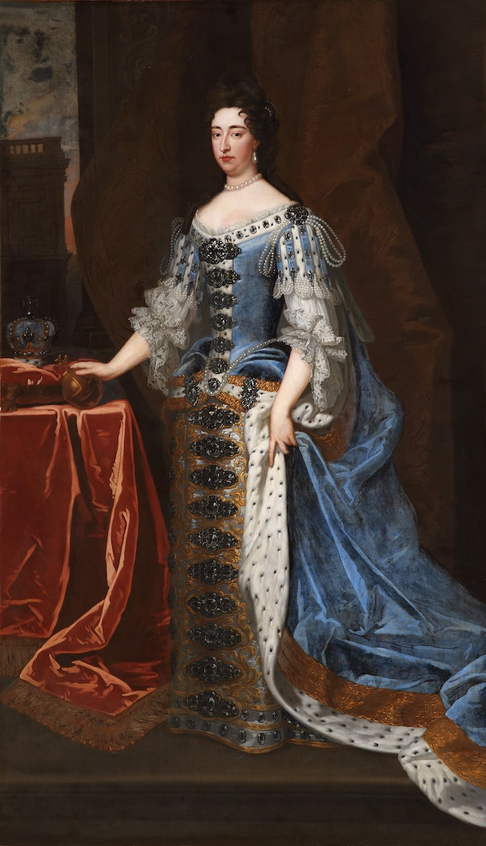 Queen Mary II (1662 – 1694) by Godfrey Kneller (1646 – 1723), Royal Hospital Chelsea.