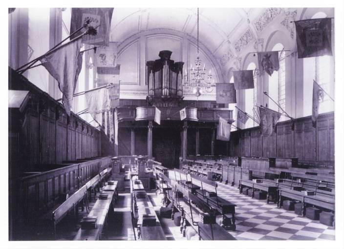 Royal Hospital Organ 1922