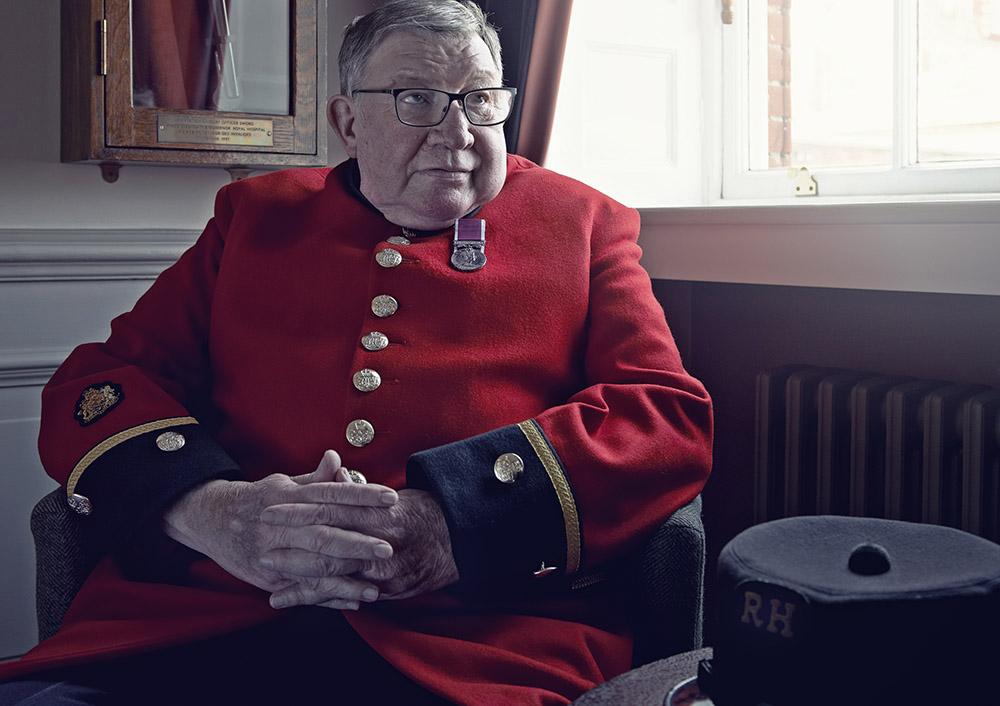 Chelsea Pensioner Sandy