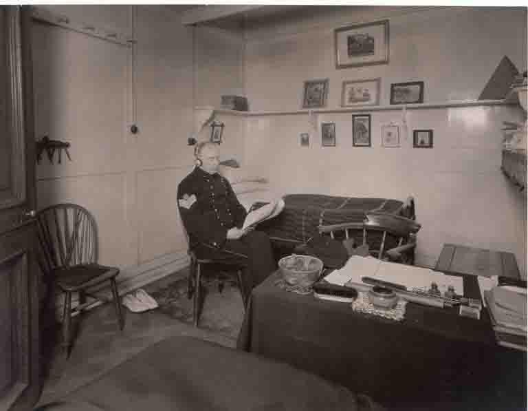 A Sergeant's berth. Royal Hospital Chelsea.