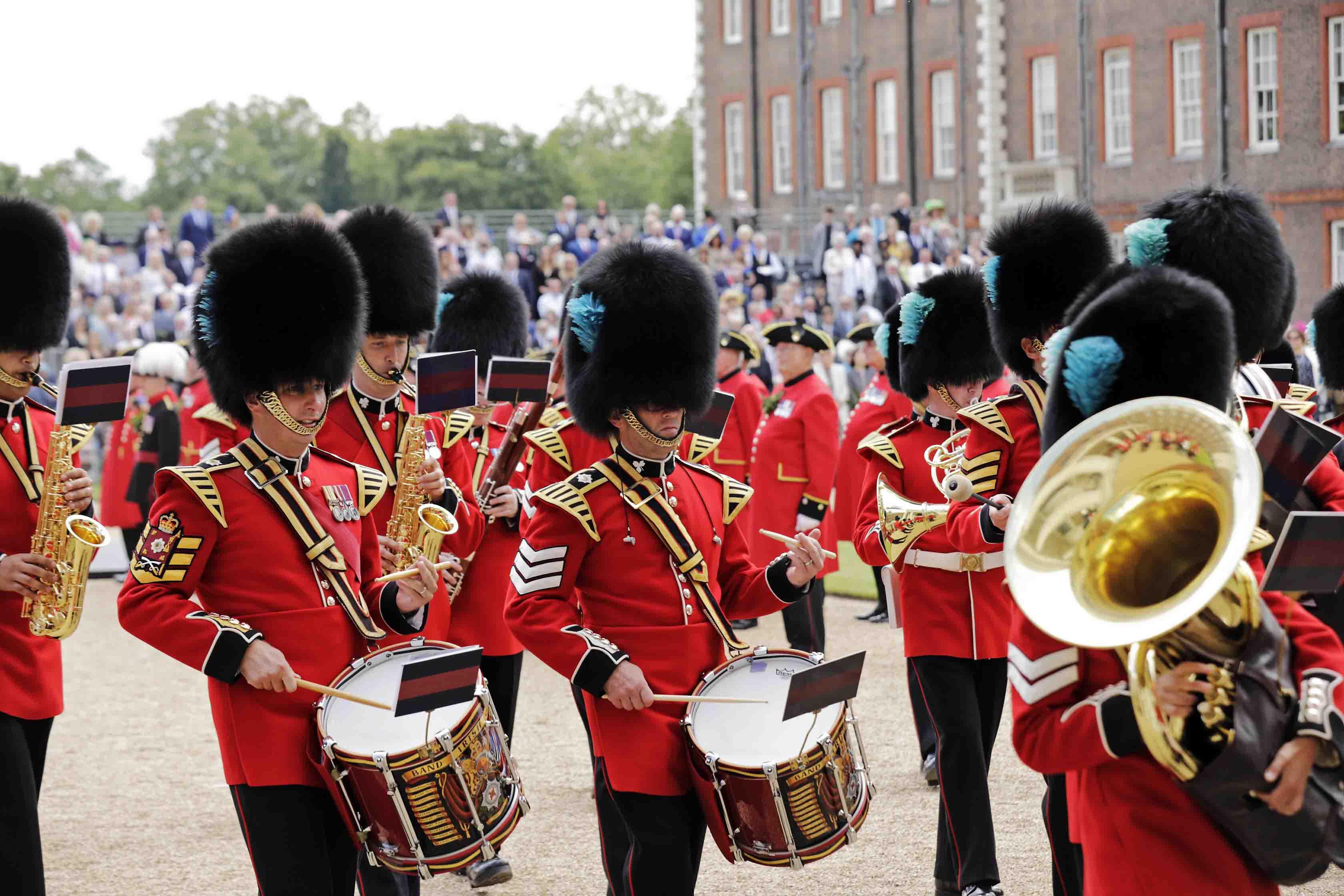 Band at Founder's Day Parade