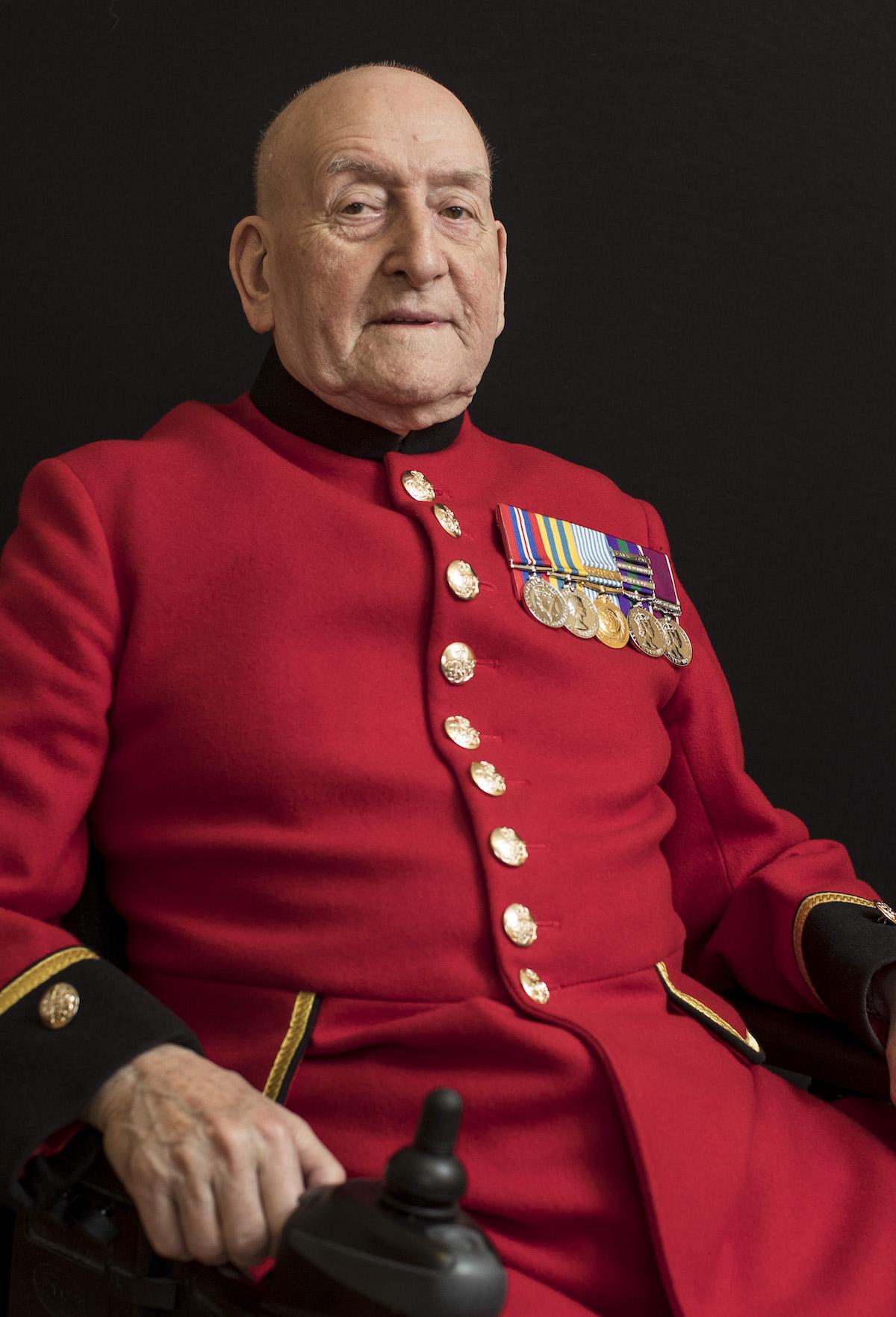 Alfred Mason - Chelsea Pensioner