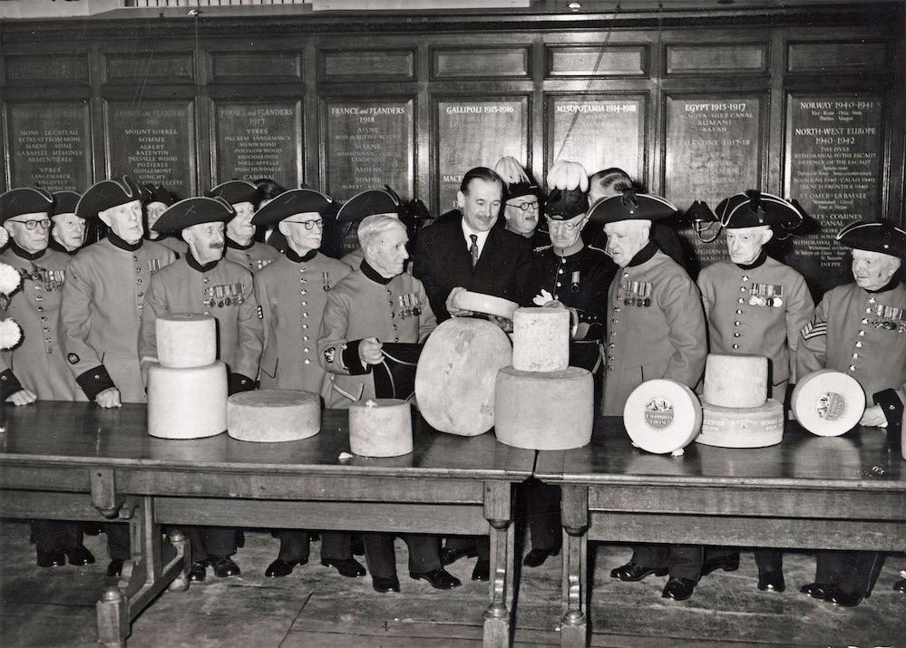 Archive photo of Ceremony of the Christmas Cheeses