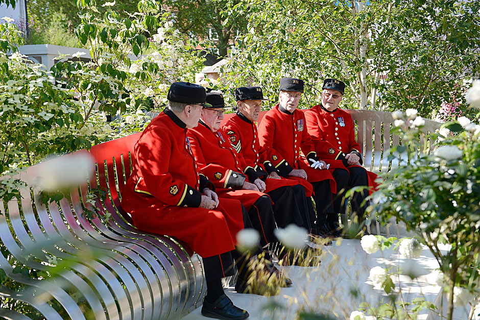 History to take centre stage at the 2015 rhs chelsea flower show royal hospital chelsea - Royal flower show ...