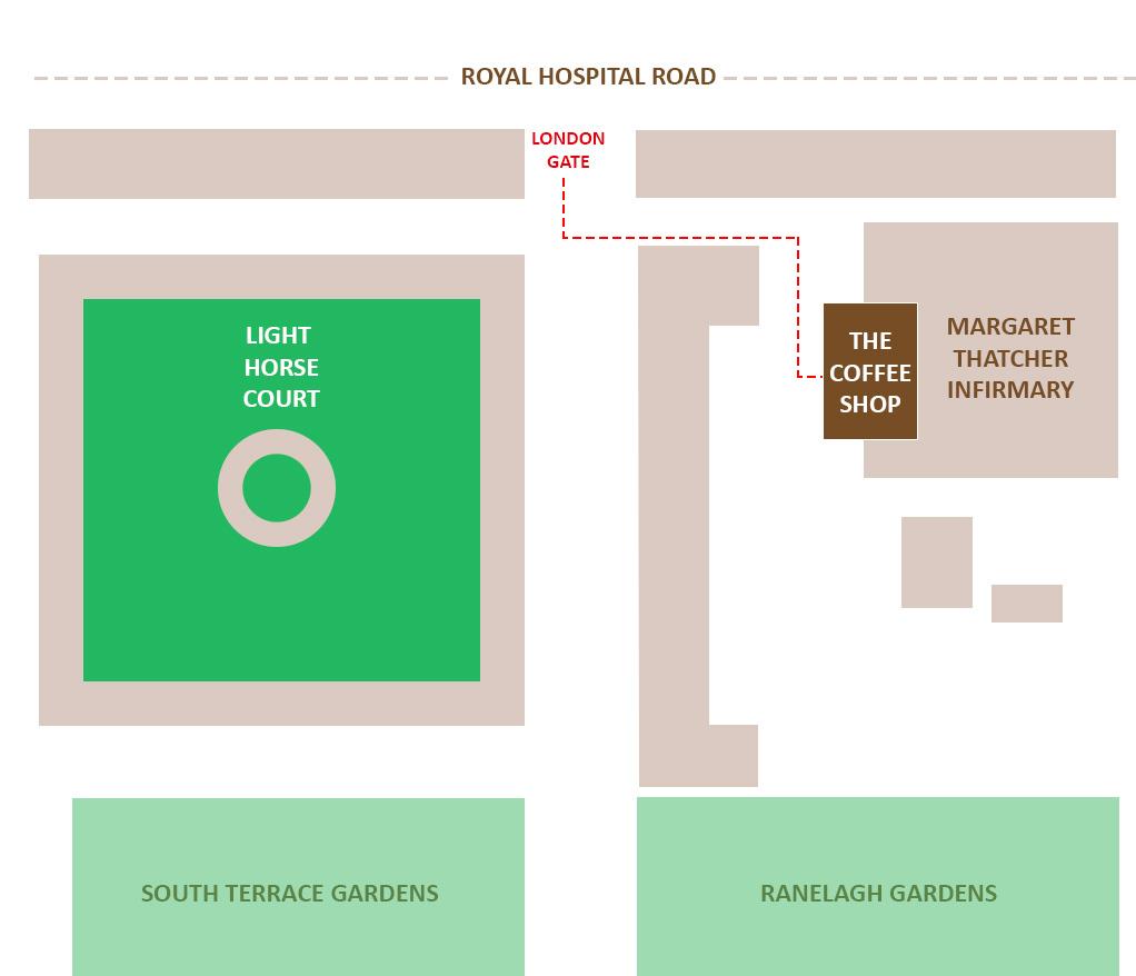 Coffee Shop Location - Royal Hospital Chelsea