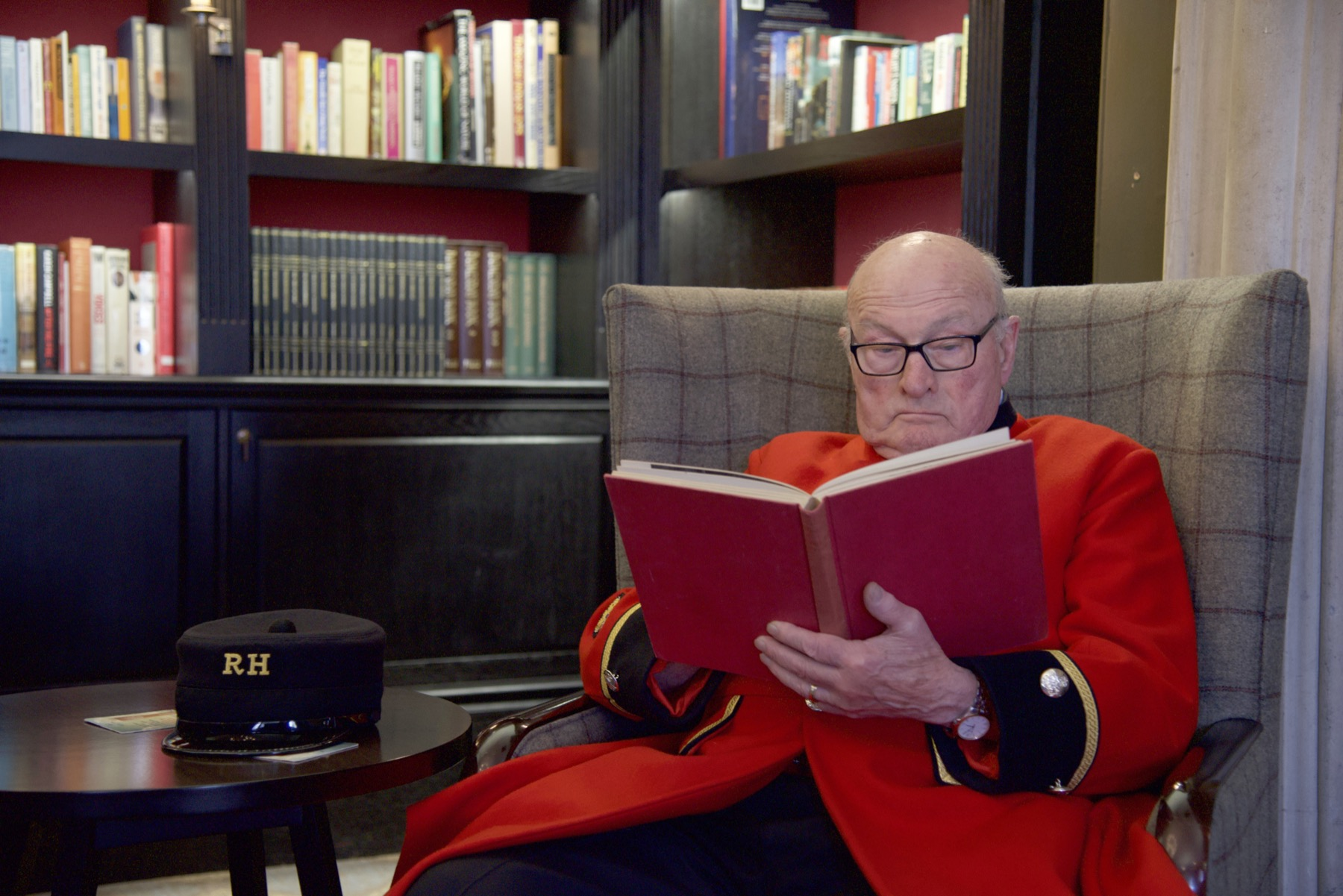 Colin Thackery - Chelsea Pensioner
