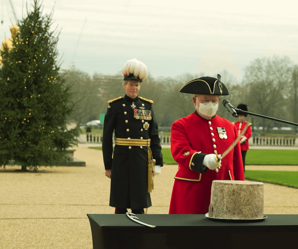 Ceremony of the Christmas Cheeses - Royal Hospital Chelsea