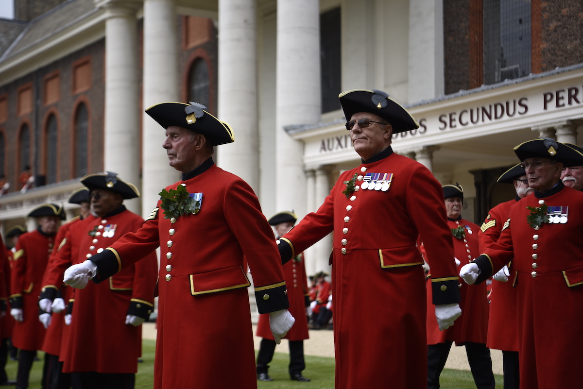Founders Day at Royal Hospital Chelsea