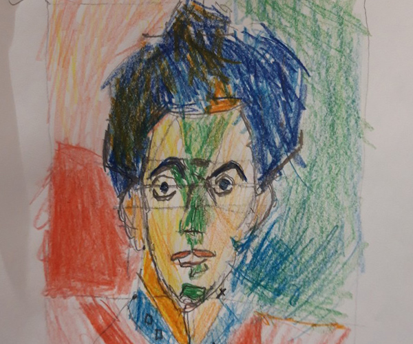 David Hinds - Self Portrait