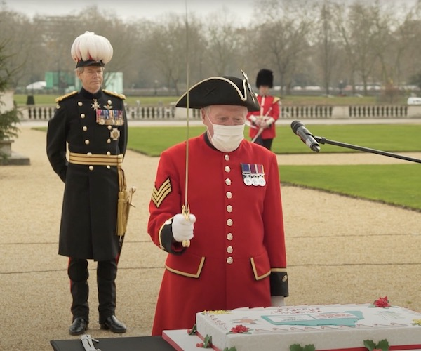 Christmas Cake Ceremony 2020