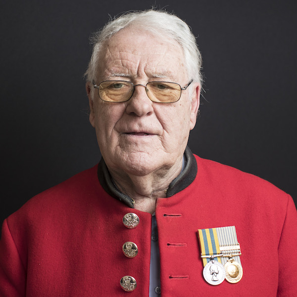 Gerry Farmer - Chelsea Pensioner