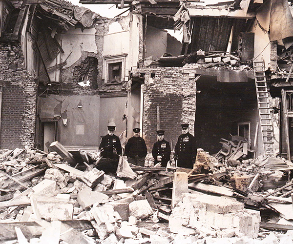 Infirmary Bombing
