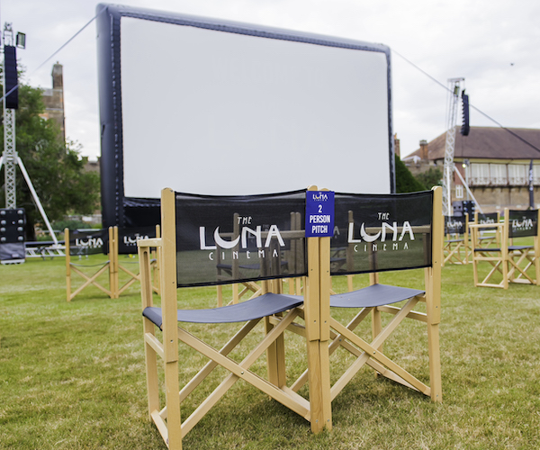 Luna Cinema at the Royal Hospital