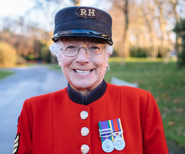Marjorie Cole - Celebrating 10 years of Lady Chelsea Pensioners