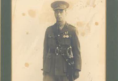 Edmund after WW1 (approx. 1918)