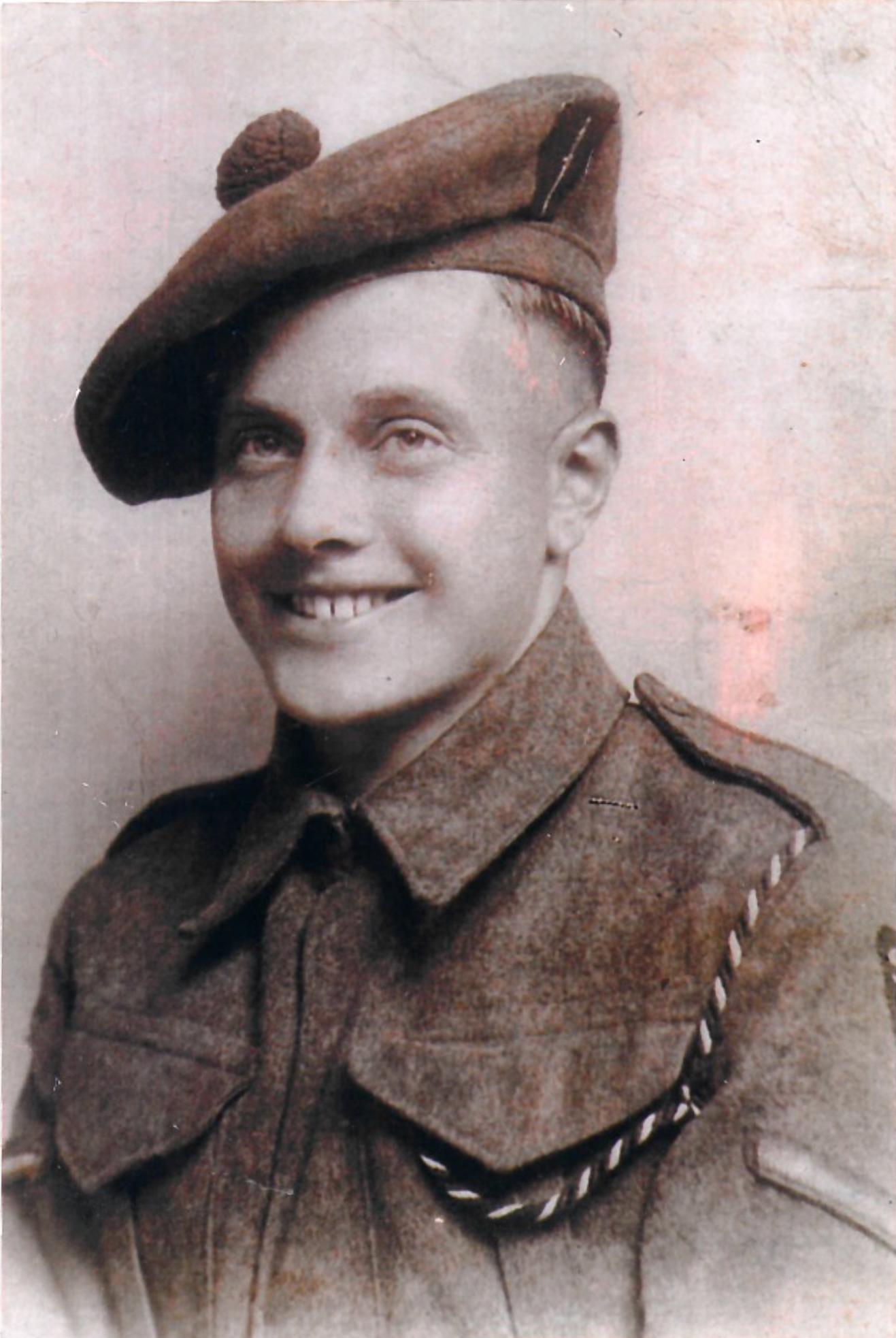 Former Commando George Parsons