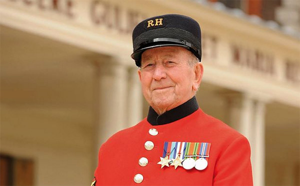Chelsea Pensioner Alan Lee