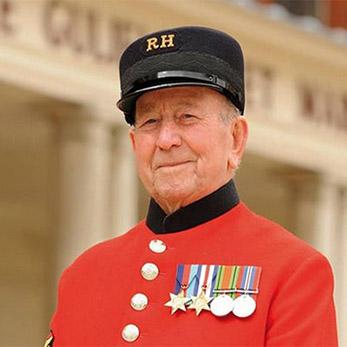 Chelsea Pensioner Alan Lee