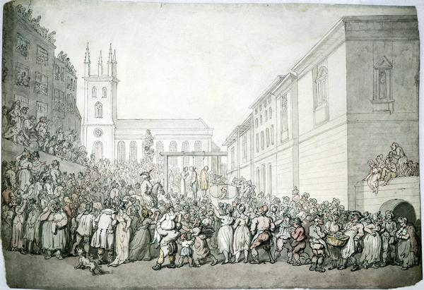 Newgate Gallows Public Execution