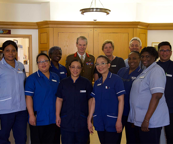 Nursing and Care Team - Royal Hospital Chelsea