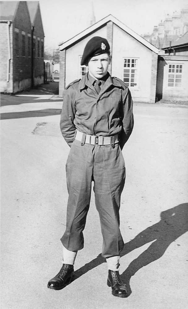 Pat in March 1966 at Buller barracks