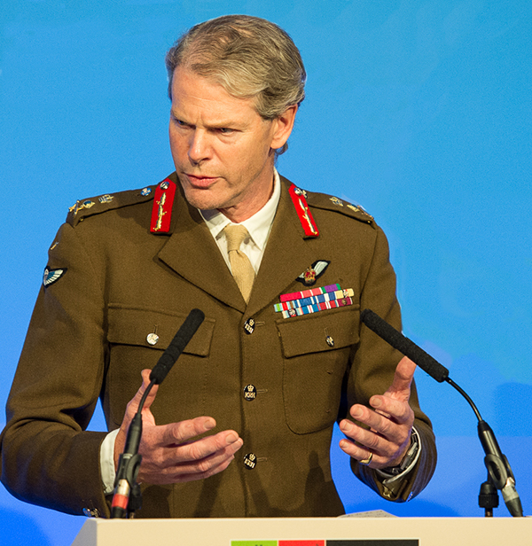 General Sir Adrian Bradshaw, KCB, OBE, DL