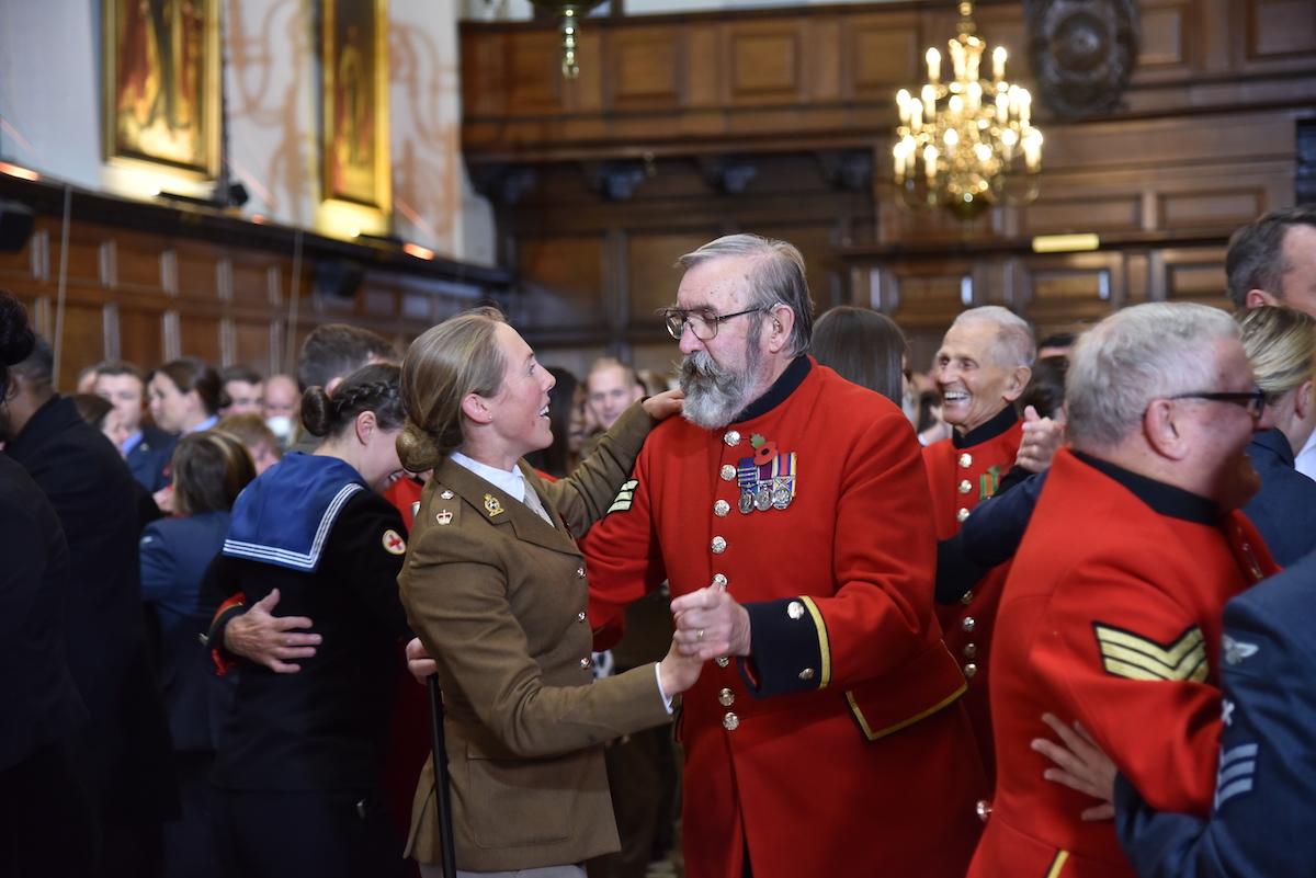 Stars of Strictly enjoy a Tea Dance at the Royal Hospital