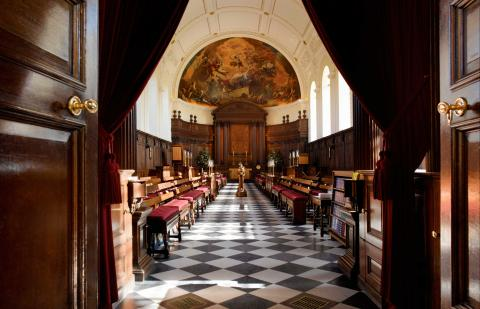 The Wren Chapel - Royal Hospital Chelsea